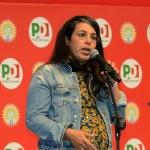 Foto Nicoloro G.   23/08/2019   Ravenna   Serata di apertura della Festa Nazionale dell' Unita'. nella foto Ouidad Bakkali, vicesegretaria provinciale PD.