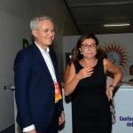 Foto Nicoloro G.   30/08/2019   Ravenna    Festa Nazionale dell' Unita'. nella foto la vicesegretaria del PD Paola De Micheli con Stefano Vaccari, responsabile delle Relazioni Esterne del PD.