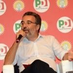 Foto Nicoloro G.   30/08/2019   Ravenna    Festa Nazionale dell' Unita'. nella foto il direttore dell' Espresso Marco Damilano.