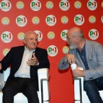 Foto Nicoloro G.   25/08/2019   Ravenna   Festa Nazionale dell' Unita'. nella foto da sinistra Vincenzo De Luca, governatore della Campania, e Stefano Bonaccini, governatore dell' Emilia-Romagna.