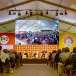 Foto Nicoloro G.   25/08/2019   Ravenna   Festa Nazionale dell' Unita'. nella foto una veduta della sala che ospita i dibattiti e gli incontri.