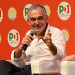 Foto Nicoloro G.   25/08/2019   Ravenna   Festa Nazionale dell' Unita'. nella foto Enrico Rossi, governatore della Toscana.