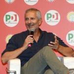 Foto Nicoloro G.   25/08/2019   Ravenna   Festa Nazionale dell' Unita'. nella foto lo scrittore Gianrico Carofiglio.