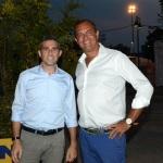 Foto Nicoloro G.   01/09/2019   Ravenna    Festa Nazionale dell' Unita'. nella foto il sindaco di Parma Federico Pizzarotti, a sinistra, e il sindaco di Napoli Luigi De Magistris.