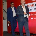 Foto Nicoloro G.   01/09/2019   Ravenna    Festa Nazionale dell' Unita'. nella foto Robero Morassut, a sinistra, e Stefano Bonaccini.