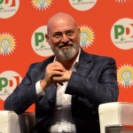 Foto Nicoloro G.   01/09/2019   Ravenna    Festa Nazionale dell' Unita'. nella foto il governatore dell' Emilia-Romagna Stefano Bonaccini.