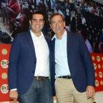 Foto Nicoloro G.   01/09/2019   Ravenna    Festa Nazionale dell' Unita'. nella foto il sindaco di Ravenna Michele De Pascale, a sinistra, e il sindaco di Milano Beppe Sala.