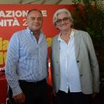 Foto Nicoloro G.   03/09/2019   Ravenna    Festa Nazionale dell' Unita'. nella foto il magistrato Nicola Gratteri e Rosy Bindi.