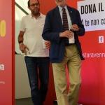 Foto Nicoloro G.   03/09/2019   Ravenna    Festa Nazionale dell' Unita'. nella foto da sinistra l' economista Tommaso Nannicini e l' ex ministro Cesare Damiano.