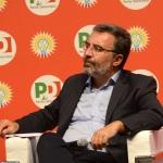 Foto Nicoloro G.   31/08/2019   Ravenna    Festa Nazionale dell' Unita'. nella foto il direttore dell' Espresso Marco Damilano.