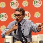 Foto Nicoloro G.   31/08/2019   Ravenna    Festa Nazionale dell' Unita'. nella foto David Sassoli, presidente del Parlamento Europeo.