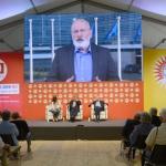 Foto Nicoloro G.   05/09/2019   Ravenna    Festa Nazionale dell' Unita'. nella foto Frans Timmermans, vicepresidente della Commissione europea, interviene in diretta video.