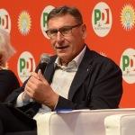 Foto Nicoloro G.   04/09/2019   Ravenna    Festa Nazionale dell' Unita'. nella foto Mario Lusetti, presidente Legacoop nazionale.