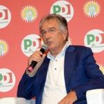 Foto Nicoloro G.   26/08/2019   Ravenna    Festa Nazionale dell' Unita'. nella foto il giornalista Ettore Tazzioli, direttore di Trc.