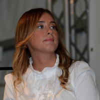 Foto Nicoloro G.   12/09/2015   Ravenna   Festa Provinciale dell' Unita'. nella foto il ministro Maria Elena Boschi.