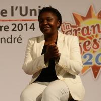 FFoto Nicoloro G.  31/08/2014   Ravenna    Festa Provinciale de L' Unità. nella foto la parlamentare europea Cècile Kyenge.