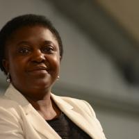 Foto Nicoloro G.  31/08/2014   Ravenna    Festa Provinciale de L' Unità. nella foto la parlamentare europea Cècile Kyenge.