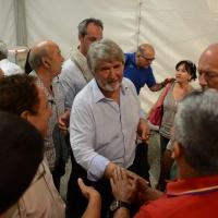 Foto Nicoloro G.  30/08/2014   Ravenna    Festa Provinciale de L' Unità. nella foto il ministro Giuliano Poletti.