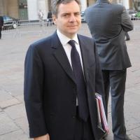 """Foto Nicoloro G.  12/07/2010  Milano  Prima giornata del """" Forum Economico e Finanziario per il Mediterraneo """". nella foto Dario Scannapieco"""