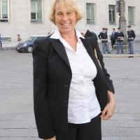 """Foto Nicoloro G.  12/07/2010  Milano  Prima giornata del """" Forum Economico e Finanziario per il Mediterraneo """". nella foto Stefania Craxi"""