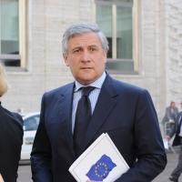 """Foto Nicoloro G.  12/07/2010  Milano  Prima giornata del """" Forum Economico e Finanziario per il Mediterraneo """". nella foto Antonio Tajani"""