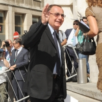 """Foto Nicoloro G.  12/07/2010  Milano  Prima giornata del """" Forum Economico e Finanziario per il Mediterraneo """". nella foto Paolo Bonaiuti"""