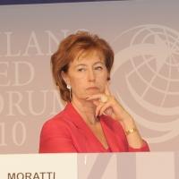 """Foto Nicoloro G.  12/07/2010  Milano  Prima giornata del """" Forum Economico e Finanziario per il Mediterraneo """". nella foto Letizia Moratti"""