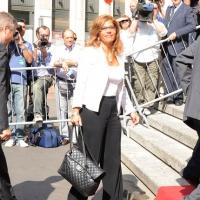"""Foto Nicoloro G.  12/07/2010  Milano  Prima giornata del """" Forum Economico e Finanziario per il Mediterraneo """". nella foto Emma Marcegaglia"""