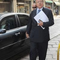 """Foto Nicoloro G. 13/07/2010 Milano, Seconda giornata del """" Forum Economico e Finanziario per il Mediterraneo """". nella foto Altero Matteoli"""