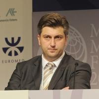 """Foto Nicoloro G. 13/07/2010 Milano, Seconda giornata del """" Forum Economico e Finanziario per il Mediterraneo """". nella foto Andrej Plenkovic"""