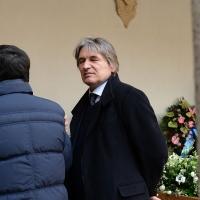 Foto Nicoloro G. 23/02/2016 Milano Cerimonia funebre laica in onore del semiologo e scrittore Umberto Eco. nella foto il direttore generale Rai Antonio Campo Dall' Orto.