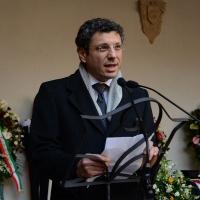 Foto Nicoloro G. 23/02/2016 Milano Cerimonia funebre laica in onore del semiologo e scrittore Umberto Eco. nella foto il rettore dell' Università di Bologna Francesco Ubertini.