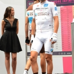 Foto Nicoloro G.   21/05/2019   Ravenna    10° tappa del 102° Giro d' Italia da Ravenna a Modena. nella foto Nans Peters, maglia bianca come miglior giovane del Giro d' Italia.