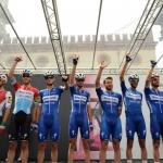 Foto Nicoloro G.   21/05/2019   Ravenna    10° tappa del 102° Giro d' Italia da Ravenna a Modena. nella foto la squadra Ineos del Campione d' Italia.