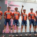 Foto Nicoloro G.   21/05/2019   Ravenna    10° tappa del 102° Giro d' Italia da Ravenna a Modena. nella foto la squadra di ciclismo Bahrain-Merida.