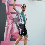 Foto Nicoloro G.   21/05/2019   Ravenna    10° tappa del 102° Giro d' Italia da Ravenna a Modena. nella foto il campione d' Italia su strada Gianni Moscon.