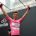 Foto Nicoloro G.   21/05/2019   Ravenna    10° tappa del 102° Giro d' Italia da Ravenna a Modena. nella foto la Maglia Rosa Valerio Conti.