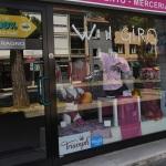 Foto Nicoloro G.   21/05/2021   Ravenna   13° tappa, Ravenna-Verona, del 104° Giro d' Italia dedicato a Dante nel settimo centenario della morte del Sommo Poeta. nella foto una vetrina addobbata per l' occasione.