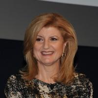 """Foto Nicoloro G. 12/10/2011 Milano Nona edizione dello """" IAB Forum """" che quest' anno ruota intorno al concept """" The New Normal """", due aggettivi antitetici per significare da un lato la raggiunta maturita' di Internet e dall' altro l' importanza dell' innovazione. nella foto Arianna Huffington"""