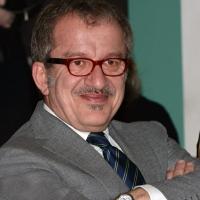"""Foto Nicoloro G. 29/05/2013 Milano Presentazione del libro """" Il sangue non sbaglia """". L' autore è il defunto Capo della Polizia Antonio Manganelli. nella foto Roberto Maroni"""