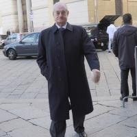 Foto Nicoloro G. 27/10/2010 Milano  Nell' aula magna dell' Universita' Cattolica cerimonia di inaugurazione dell' anno accademico 2010-2011. nella foto Cesare Romiti