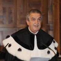 Foto Nicoloro G. 27/10/2010 Milano  Nell' aula magna dell' Universita' Cattolica cerimonia di inaugurazione dell' anno accademico 2010-2011. nella foto Lorenzo Ornaghi