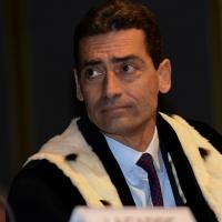Foto Nicoloro G.  09/12/2014    Milano    Inaugurazione dell' Anno Accademico 2014-2015 dell' Università Bocconi. nella foto il rettore Bocconi Andrea Sironi.