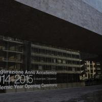 Foto Nicoloro G. 09/12/2014 Milano Inaugurazione dell' Anno Accademico 2014-2015 dell' Università Bocconi. nella foto l' Università Bocconi.