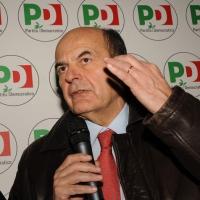Foto Nicoloro G. 19/01/2013 Milano Inaugurazione della nuova sede del Circolo PD Romana-Calvairate alla presenza del segretario generale del PD Pierluigi Bersani. nella foto Pierluigi Bersani