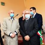 15/05/2021   Ravenna  Inaugurazione del Museo Dante alla presenza del ministro dell' Istruzione. nella foto il presidente dell'  ABI Antonio Patuelli, a sinistra, e il ministro Patrizio Bianchi.