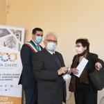 15/05/2021   Ravenna  Inaugurazione del Museo Dante alla presenza del ministro dell' Istruzione. nella foto al centro il ministro Patrizio Bianchi tra il sindaco Michele de Pascale e l' assessora Elsa Signorino.