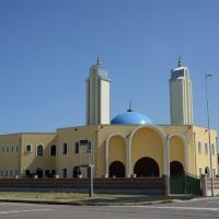 Foto Nicoloro G. 04/10/2013 Ravenna Inaugurazione della seconda più grande Moschea d' Italia dopo quella di Roma. nella foto La Moschea