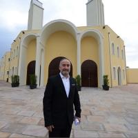 Foto Nicoloro G. 04/10/2013 Ravenna Inaugurazione della seconda più grande Moschea d' Italia dopo quella di Roma. nella foto Ahmed Basel Abdelkader
