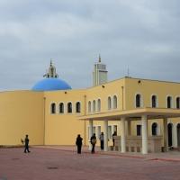 Foto Nicoloro G. 04/10/2013 Ravenna Inaugurazione della seconda più grande Moschea d' Italia dopo quella di Roma. nella foto Il cortile della Moschea